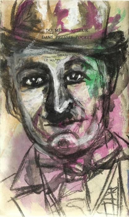 Charlie Chaplin by CatherineGaillard